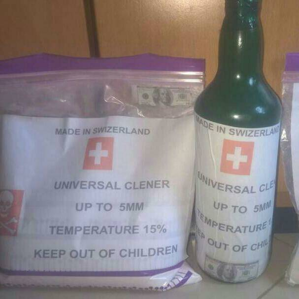 Universal Ssd Solution Chemical for Cleaning Euro and Dollars